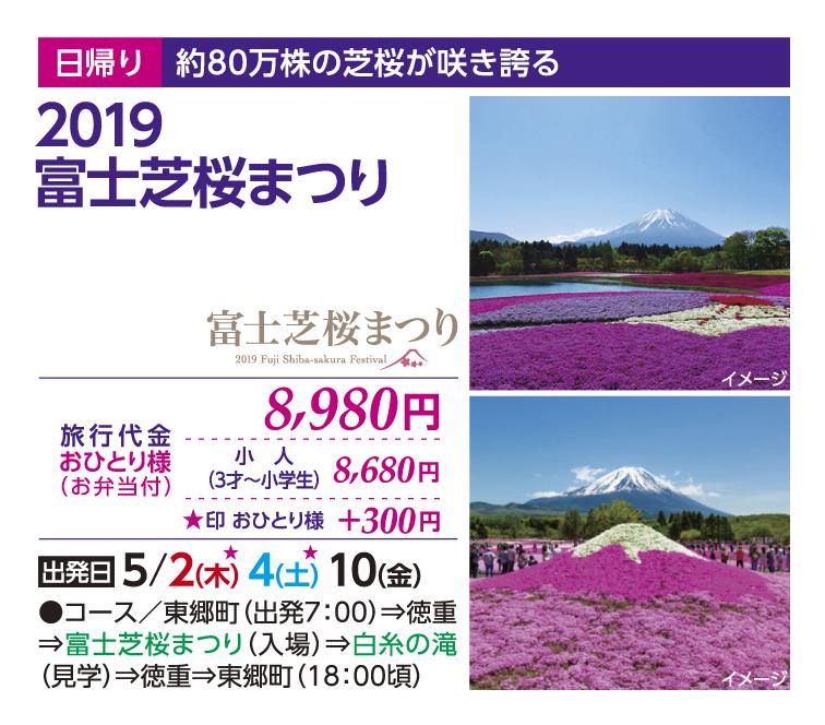 2019富士芝桜まつり